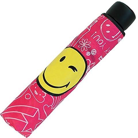 Mini parapluie smiley humoristique