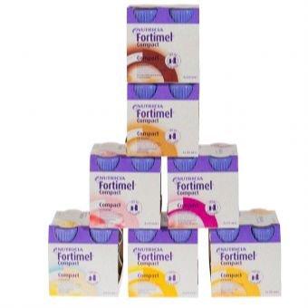 Fortimel Compact 2.4 Schokoladengeschmack, 4X125 ml -