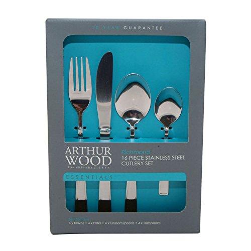 Arthur Wood 16 pièces Ensemble de couverts