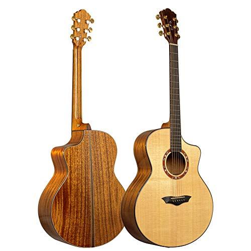 NUYI Das neueste 41-Zoll-High-End Exquisite Akustikgitarre Veneer Gitarre
