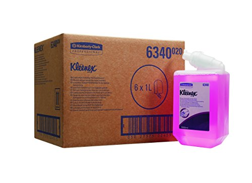 kleenex-luxury-pink-foam-soap-product-code-6340-1-ltr-pack-of-6