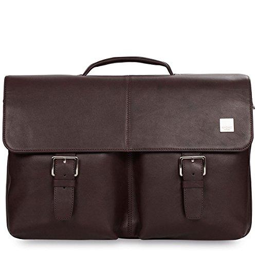 Knomo 55–110BRN Brompton Jackson maletín para Notebook/Macbook Pro de hasta 38,1cm (15pulgadas) Color Marrón