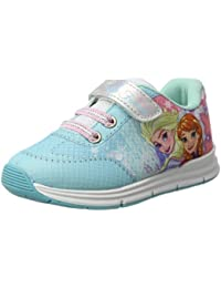 Frozen 2200-2443 Mädchen Sneaker, Canvas, mehrfarbig, Elsa, Anna (32) Disney