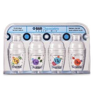 Amac Bar Chemistry - Mini-shaker 4-pack, 7-ounce Each by AMAC -