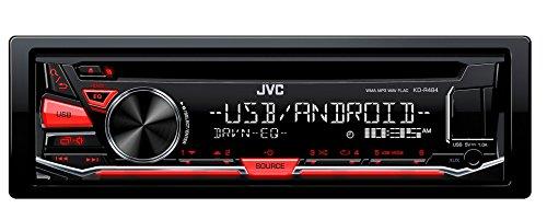 JVC kd-r484 sintolettore avec CD, Rouge