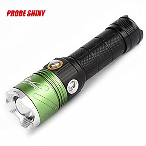 Taschenlampe,BBring Super Bright XML L2 X800 Tactical Taschenlampe LED Zoom