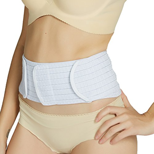 Neotech Care 3-in-1 Maternity Pregnancy Support, Postpartum Belly Wrap & Pelvis Belt / Brace / Band - Breathable Girdle - Black, Beige or White