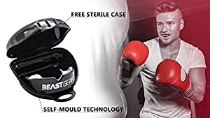 Beast Gear Mouth Guard / Gum Shield - for boxing, MMA, rugby, muay thai, hockey, judo, karate martial arts and all contact sports