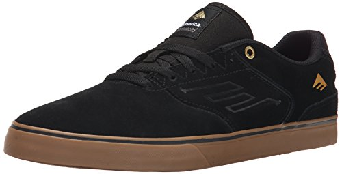Emerica The Reynolds Low Vulc, Chaussures de Skateboard homme Noir (Black Gum 964)