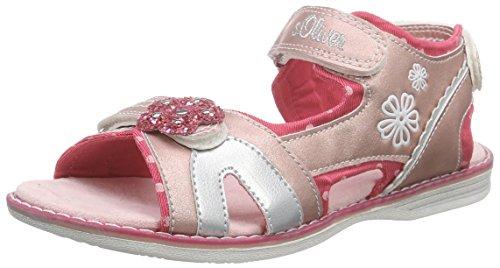 s.Oliver 38211, Mädchen Sandalen, Pink (DUSTY PINK 547), 25 EU (7.5 Kinder UK)