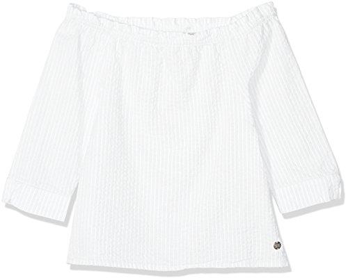 Garcia Kids Mädchen Bluse O82433, Weiß (Off White 53), 164 (Herstellergröße: 164/170)