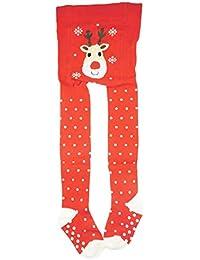 be4644974a391 Collants de Noël en coton majoritaire pour bébé fille