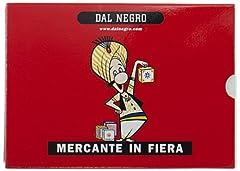 Idea Regalo - Dal Negro 90004 - Mercante in Fiera Astuccio Rosso, Carte da Gioco