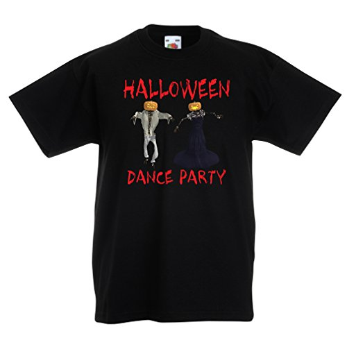 Kinder T-Shirt Coole Outfits Halloween Tanz Party Veranstaltungen Kostümideen (12-13 years Schwarz (Piraten Muskel Kostüme)