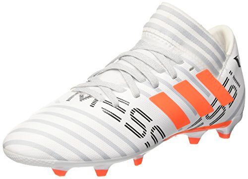adidas Jungen Nemeziz Messi 17.3 Fg J Fußballschuhe, Mehrfarbig (Ftwr White/solar Orange/clear Grey ), 38 2/3 EU (Adidas Fußball Schuhe Messi Kinder)