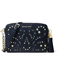 bb65af46a2 MICHAEL by Michael Kors Ginny Borsa a Tracolla con Borchie Admiral Donna