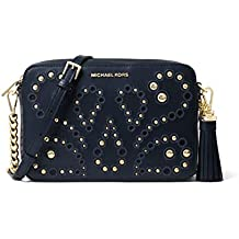 d256ee885aad MICHAEL by Michael Kors Ginny Borsa a Tracolla con Borchie Admiral Donna