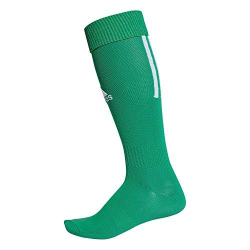 adidas Erwachsene Santos 18 Socken, Bold Green/White, EU 40-42