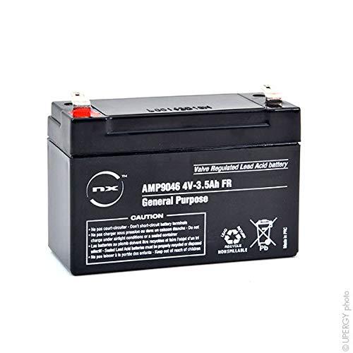 NX - Batterie plomb AGM S 4V-3.5Ah FR 4V 3.5Ah T1 - Unité(s)