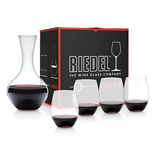 Riedel 5414/30 O Cabernet-Gläser und Dekanter, 5-teilig Set