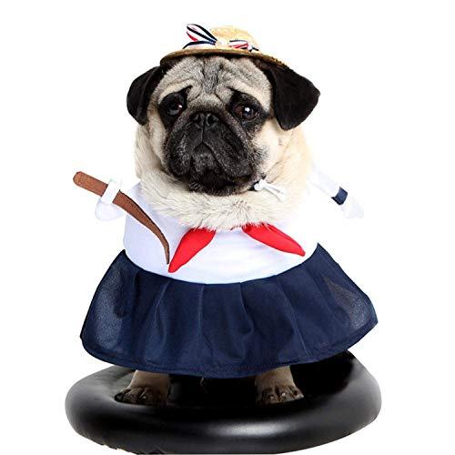 Kleidung Kostüm Kleidung, verkleiden Sich lustige Katze/Hund Kostüme, Haustier Cosplay Kleidung für Urlaub Geburtstagsparty, die Beste Katze/Hund Geschenk-Medium ()