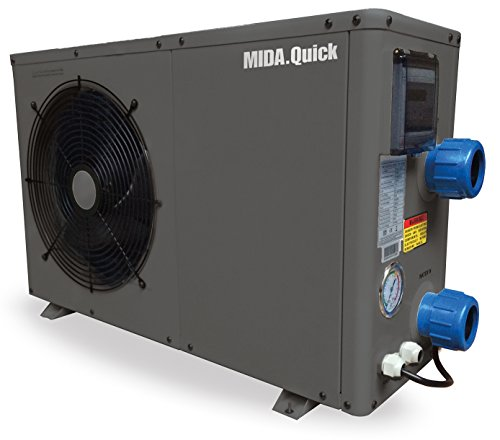 Pompa di calore per piscina Mida Quick 21120m318,6kW/220V Code 2706