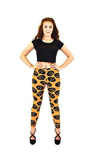 Women Ladies Sexy Halloween Stretch Long length Leggings Costume Novelty Pants (Freche Krankenschwester Outfits)