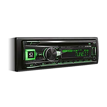 Alpine-CDE-193BT-CDUSB-Receiver-mit-Bluetooth-Schwarz