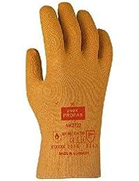 Uvex Profas Trikotierter Schnitt-Schutzhandschuh NK2722 mit NBR-Beschichtung 10 Orange