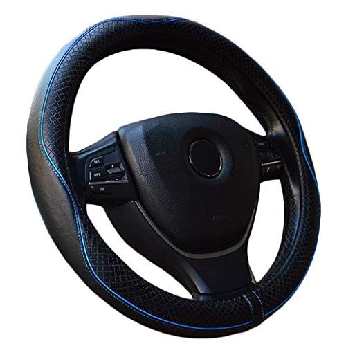 MTH Couvre Volant Voiture Universel en Cuir 38cm15 inch Auto Accessoirs Respirante Antidérapante Housse Volant pour Voiture/Camion/SUV MTH-17
