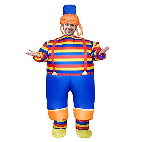 Hillrong Inflatable Costumes Payaso Disfraces de Anime Disfraz de Dibujos Animados inflables Disfraz de Cosplay Disfraces para Adultos