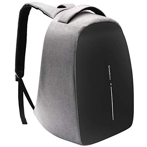 Daskoo Zaino di Ricarica Antifurto, Zaino per Laptop da 15,6 Pollici con Porta di Ricarica USB Zaino da Viaggio Business checkpoint impermeabile