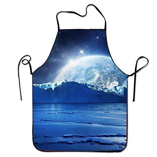 Fs2A1X Unisex Custom Aprons Ocean Space Waterproof Cooking BBQ Apron