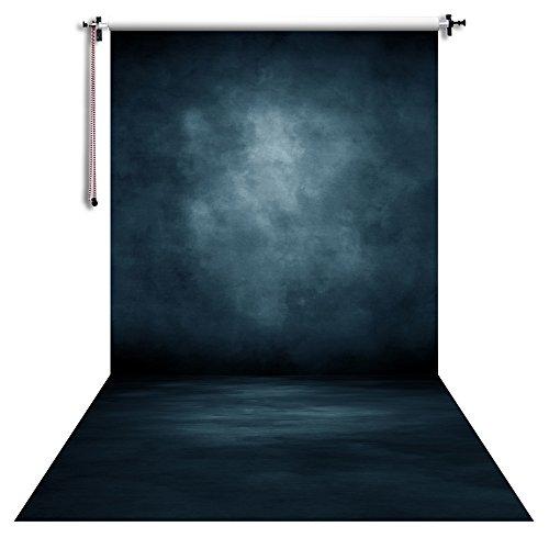 NIVIUS PHOTO 150x300cm Hochzeit Hintergrund Fotografie Hintergrund Portrait Fotos Requisiten Video Live Home Wanddekorationen tiefes Blau XT-5725
