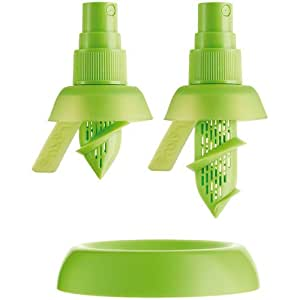Lékué 3400115SURU004 Citrus Spray Plastique ABS + Silicone Platine