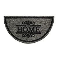 Gizhome Koko Kapı Paspası 33X60 Yarımay Grı Home