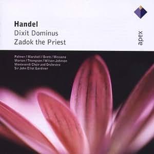 Handel : Dixit Dominus & Zadok the Priest - Apex