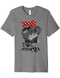 Schwarzer Labrador-Hundemama T-Shirt Hundemutter Geschenk