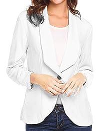 DEELIN La Moda De La Mujer Profesional OL Estilo De Tres Mangas Blazer Elegante Delgada Chaqueta De Cuello Blanco