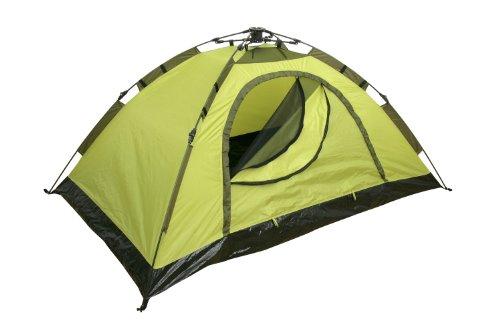 Yellowstone Zelt für 2 Personen, kann schnell aufgebaut werden, Grün, 210x140x95cm (Pop-up-camper-ausrüstung)