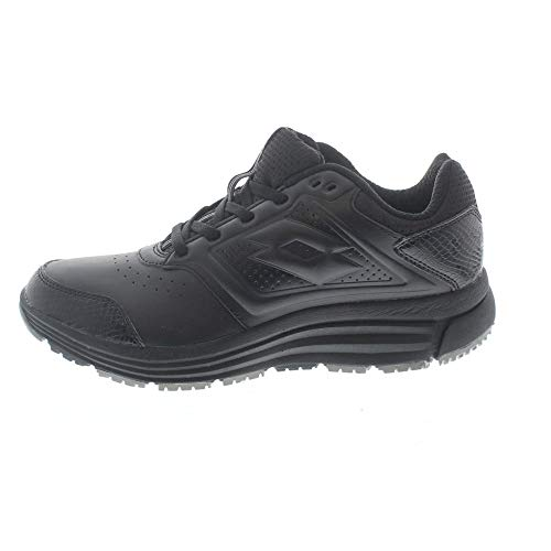 Lotto Love Ride LTH AMF W, Scarpe Running Donna, Nero (BLK/TIT GRY), 36.5 EU