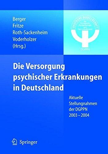 Cover »Die Versorgung psychischer Erkrankungen in Deutschland«