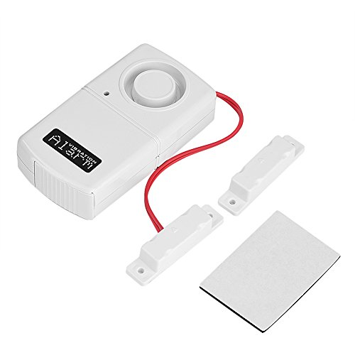 120dB Wireless Home Security Alarm Tür Bell Sirene Detektor, Zerone magnetisch Klingeln, Detektor Infrarot Bewegungsmelder Sensor für Türen Eingänge Raum Home Office