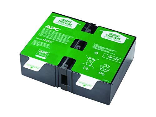 APC APCRBC123 - Ersatzbatterie für Unterbrechungsfreie Notstromversorgung (USV) von APC - passend für Modelle BR900GI / SMT750RMI2U und andere