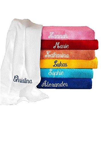 Farbe Bad-handtuch-multi (Handtuch mit Namen bestickt Farbe hawaii)