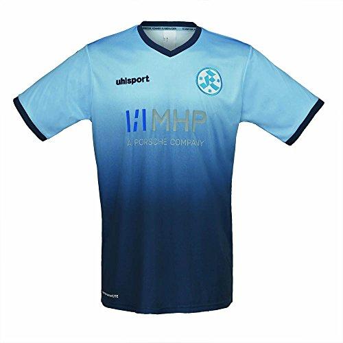 2017-2018 Stuttgarter Kickers Uhlsport Home Shirt
