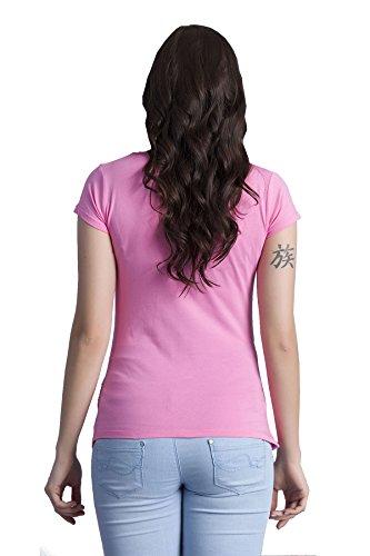 Verkauft von MamiMode Hallo Lieblingsmensch - Witzige Süße Umstandsmode T-Shirt mit Motiv Schwangerschaft, Kurzarm Rosa