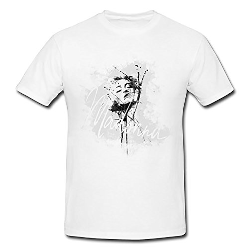 Madonna-V T-Shirt Herren, Men mit stylischen Motiv von Paul Sinus (T-shirt Tee Madonna)