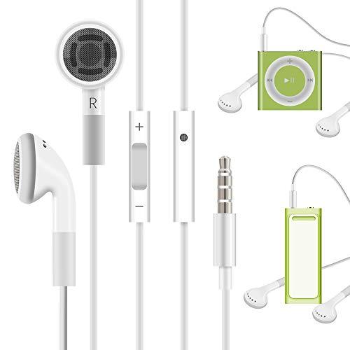 Kopfhörer mit Fernbedienung für Shuffle iPod 2/3/ 4/5/ 6, Touch 2G/ 3G/ 4G / 5G iPod Classic