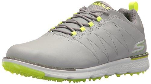 Skechers Men's Go Golf Elite V.3 Gray/Lime Golf Shoe 9.5 Men US